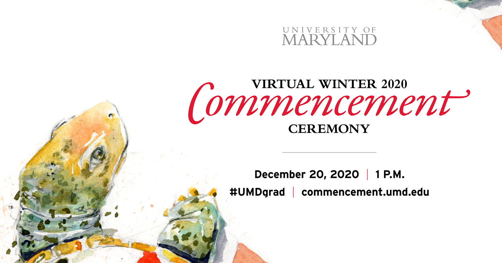 2020 Winter virtual commencement